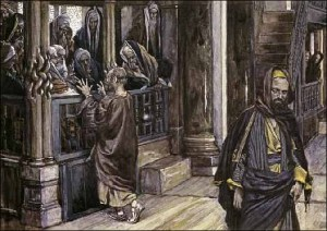 Judas Goes to the Chief Priests by James Jacques Tissot