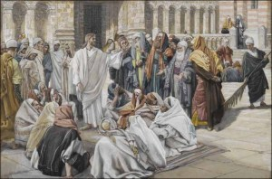 The Pharisees Question Jesus by James Jacques Tissot