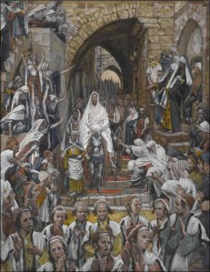 The Procession In The Streets Of Jerusalem by James Jacques Tissot