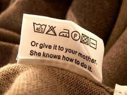 Care & maintenance tag