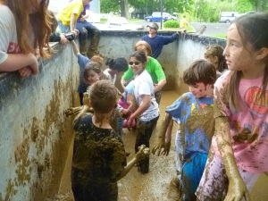 Into the MUD BOX!