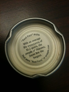 I didn't realize how in tune God was with Snapple's Real Facts!